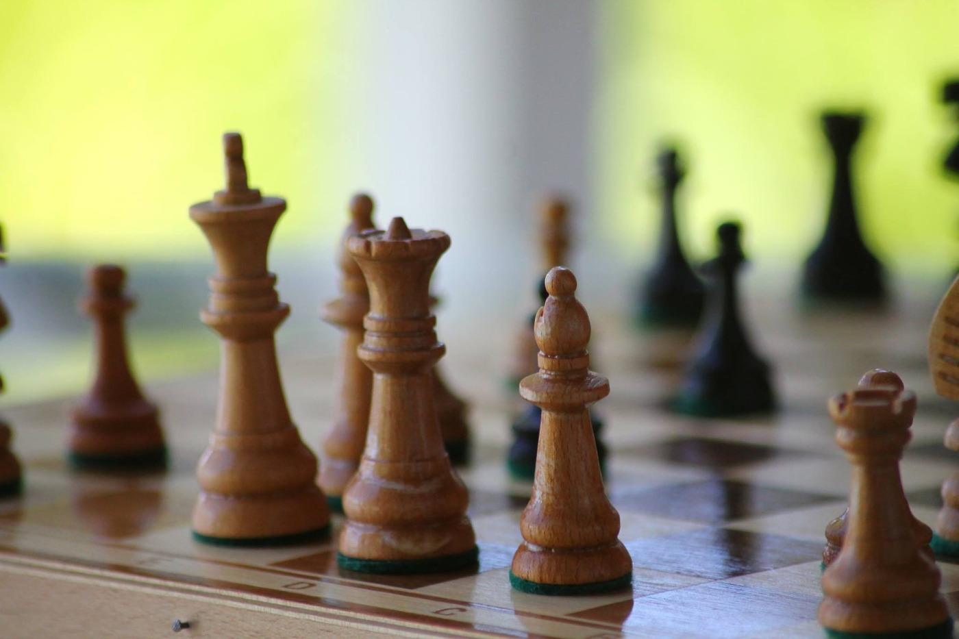 Подготовка к шахматному турниру.