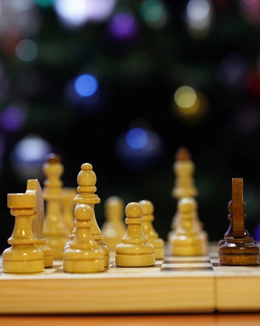 Новогодний шахматный турнир.