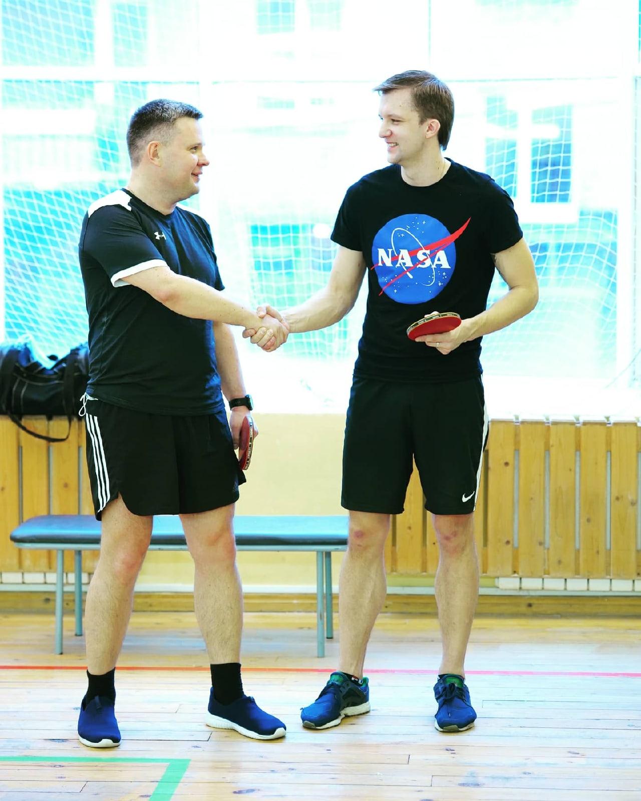 Турнир по настольному теннису среди сотрудников организаций социального обслуживания населения Санкт-Петербурга.