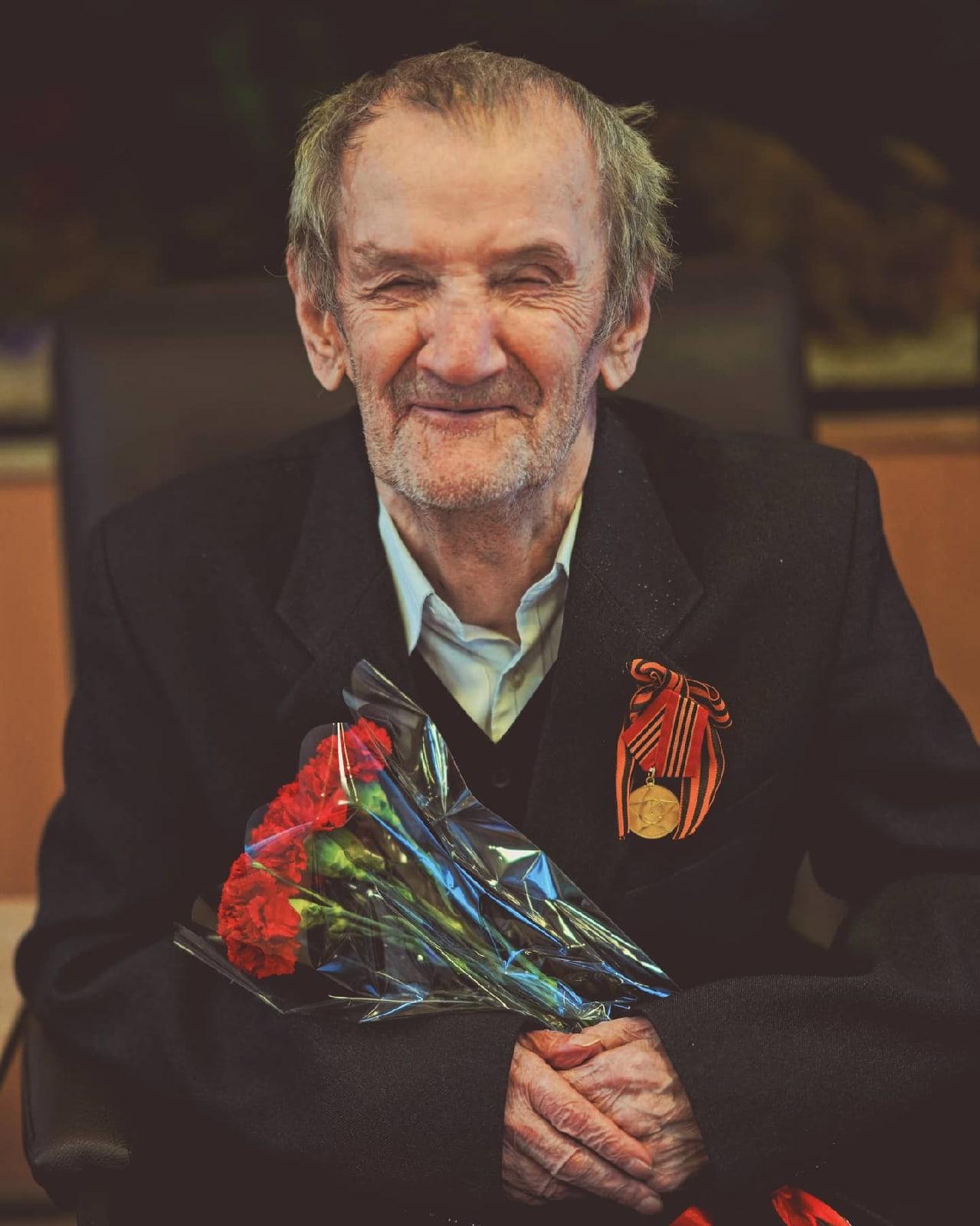 Евгений Владимирович Никольский поздравил Ветеранов Великой Отечественной войны.