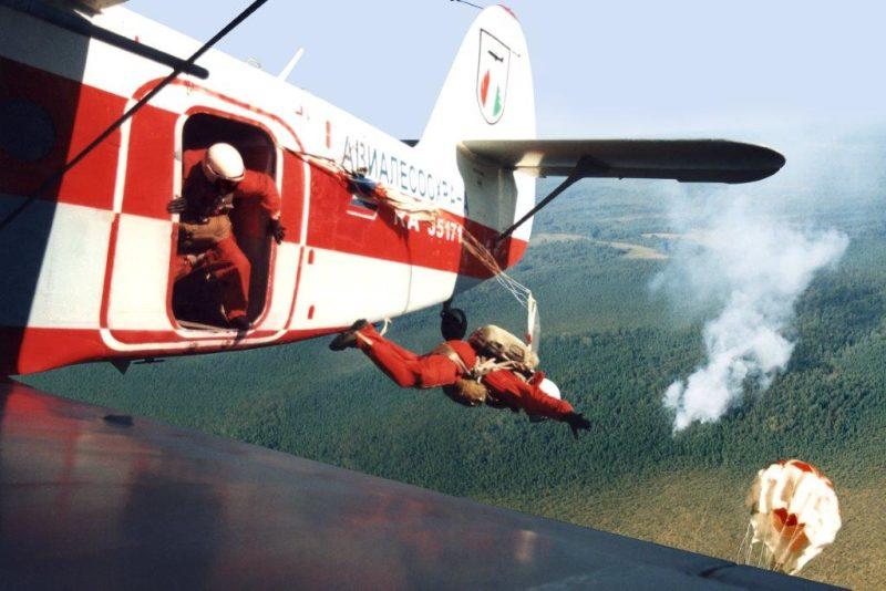 С неба — в огонь: «Авиалесоохрана» готовится отметить 90-летие.